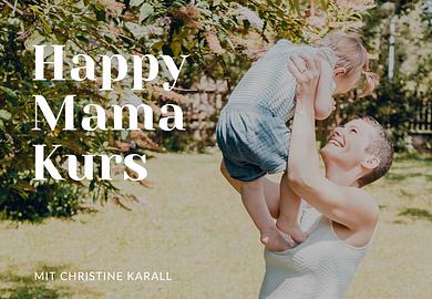 Happy Mama Kurs: Richtig entspannen lernen