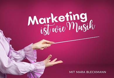 Marketing ist wie Musik: Kreiere deine kreative Personal Brand mit Online Marketing