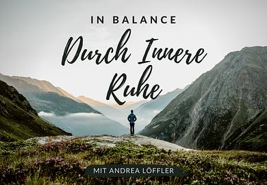 In Balance durch innere Ruhe: Autogenes Training